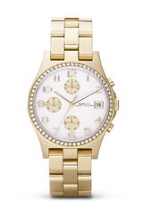 Marc By Marc Jacobs Henry Chronograph Watch 365mm - Lyst
