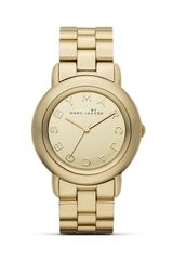 Marc By Marc Jacobs Marci Watch with Gold Bracelet  - Lyst