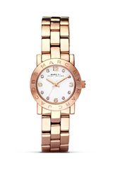 Marc By Marc Jacobs Mini Amy Rose Gold Watch  - Lyst