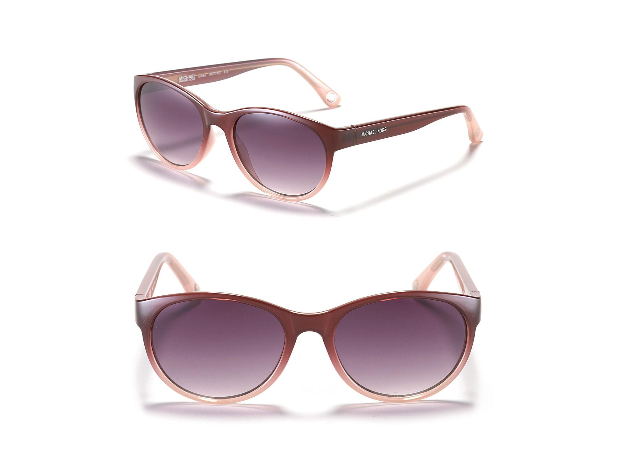 377872aad4 Michael Kors Michael Goldie Cat Eye Sunglasses in Black (tortoise)