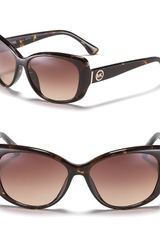 Michael Kors Michael Beacon Oversized Sunglasses - Lyst