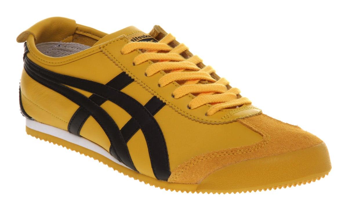 Onitsuka Tiger MEXICO 66 - Trainers - yellow/black BJYmBNLt