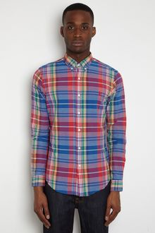 Polo Ralph Lauren Polo Ralph Lauren Mens Slim Fit Multi Check Shirt - Lyst