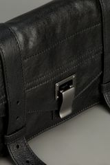Proenza Schouler Ps1 Pochette Bag in Black - Lyst