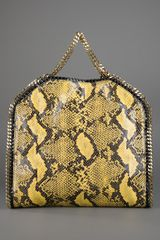 Stella Mccartney Tote Bag in Yellow - Lyst