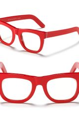 Super Ciocio Clear Frame Glasses - Lyst