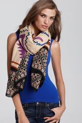 Theodora & Callum Tie All Tribal Casual Scarf - Lyst