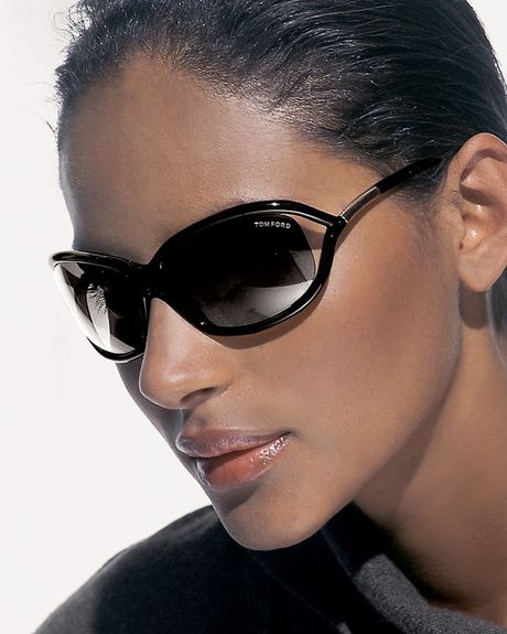 tom ford jennifer sunglasses in brown shiny black lyst. Cars Review. Best American Auto & Cars Review