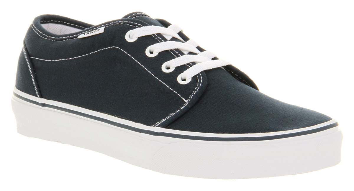 mens vans navy 159 vulc trainers