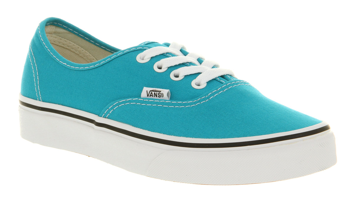 Vans Authentic Peacock Bluwht in Blue for Men | Lyst