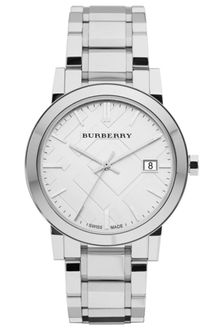 Burberry Mens Swiss Stainless Steel Bracelet 38mm - Lyst
