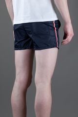 Moncler Swimming Shorts in Blue for Men - Lyst
