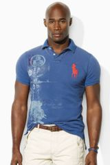 Ralph Lauren Big Pony and Graphic Polo in Blue for Men (federal blue) - Lyst