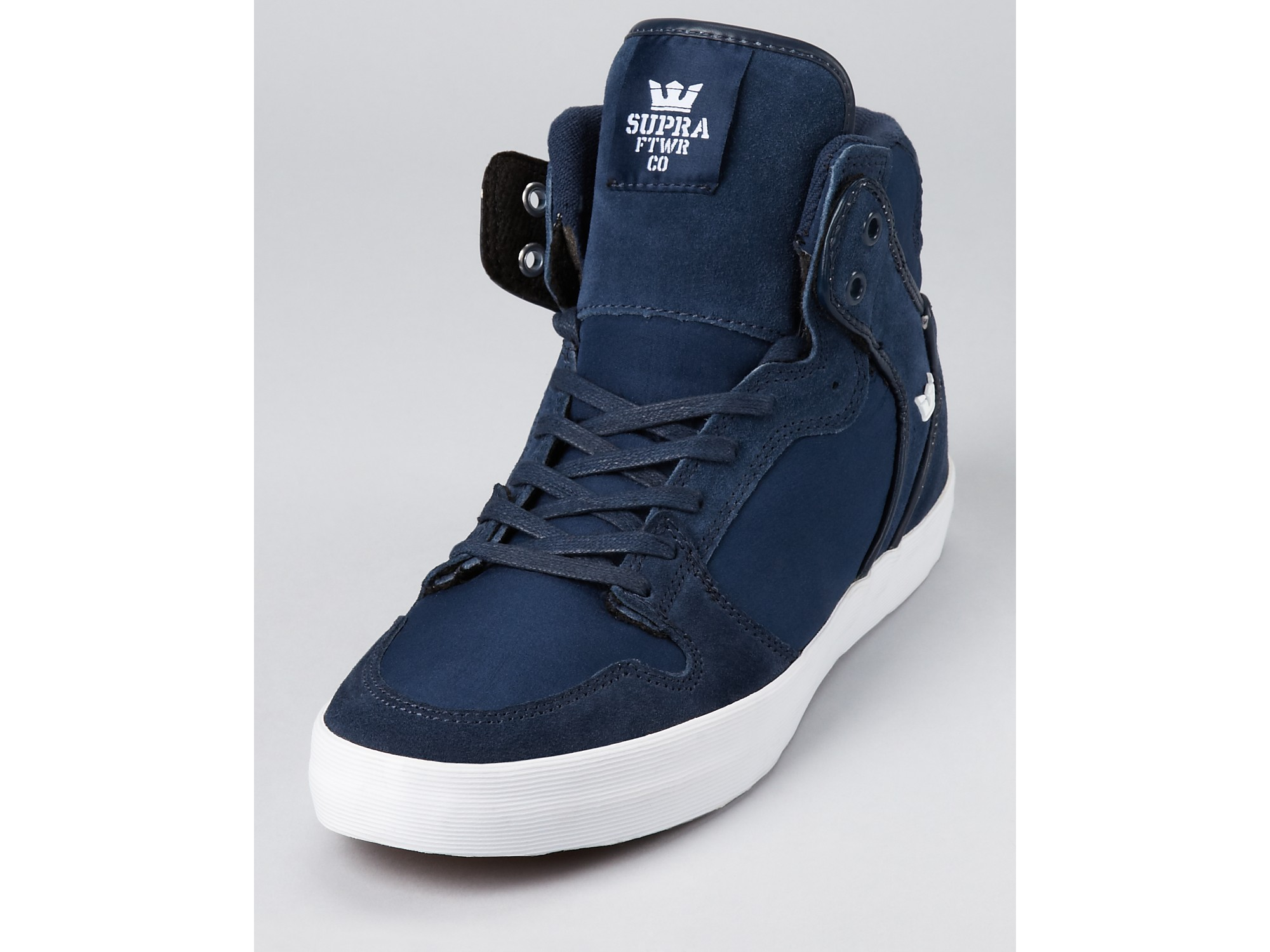 9eb493b3a0b6 Lyst - Supra Vaider High Top Casual Sneakers in Blue for Men
