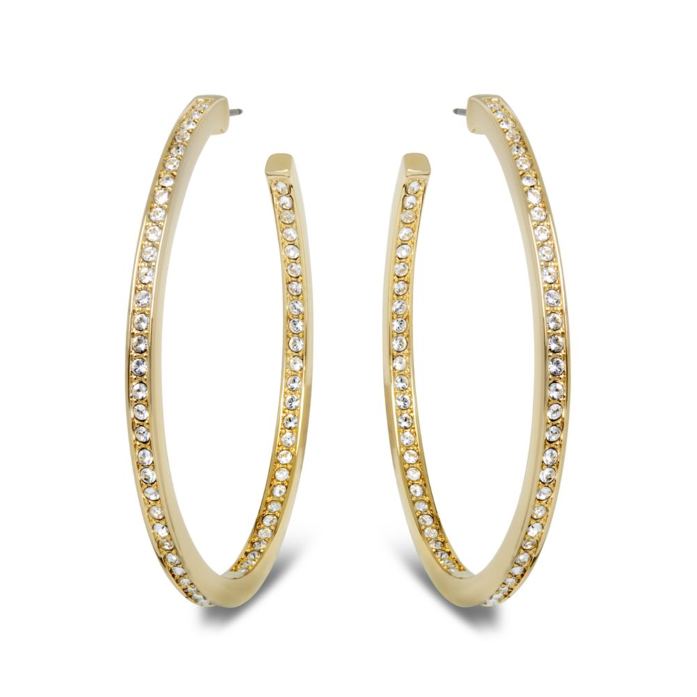 Gallery Previously Sold At Macy S Women Gold Hoop Earrings