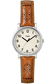 Timex® Originals Camel Leather Strap 42mm - Lyst
