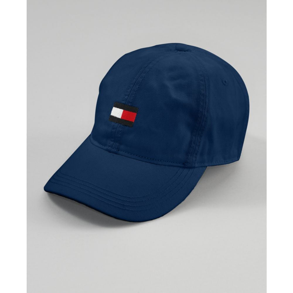 Colour-Blocked Flag Cap - Sales Up to -50% Tommy Hilfiger