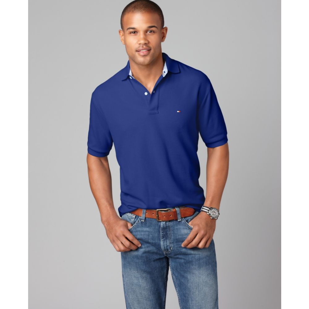 Tommy Hilfiger REGULAR FIT - Polo - blue weRpFXws