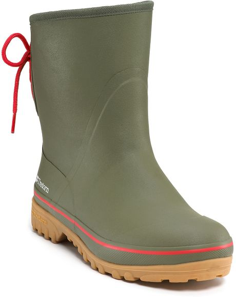 Tretorn Sub Rain Boots In Green For Men Olive Lyst