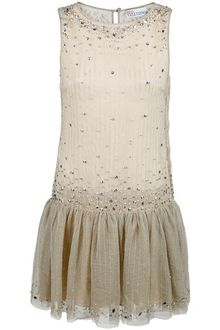 RED Valentino Beaded Dress - Lyst
