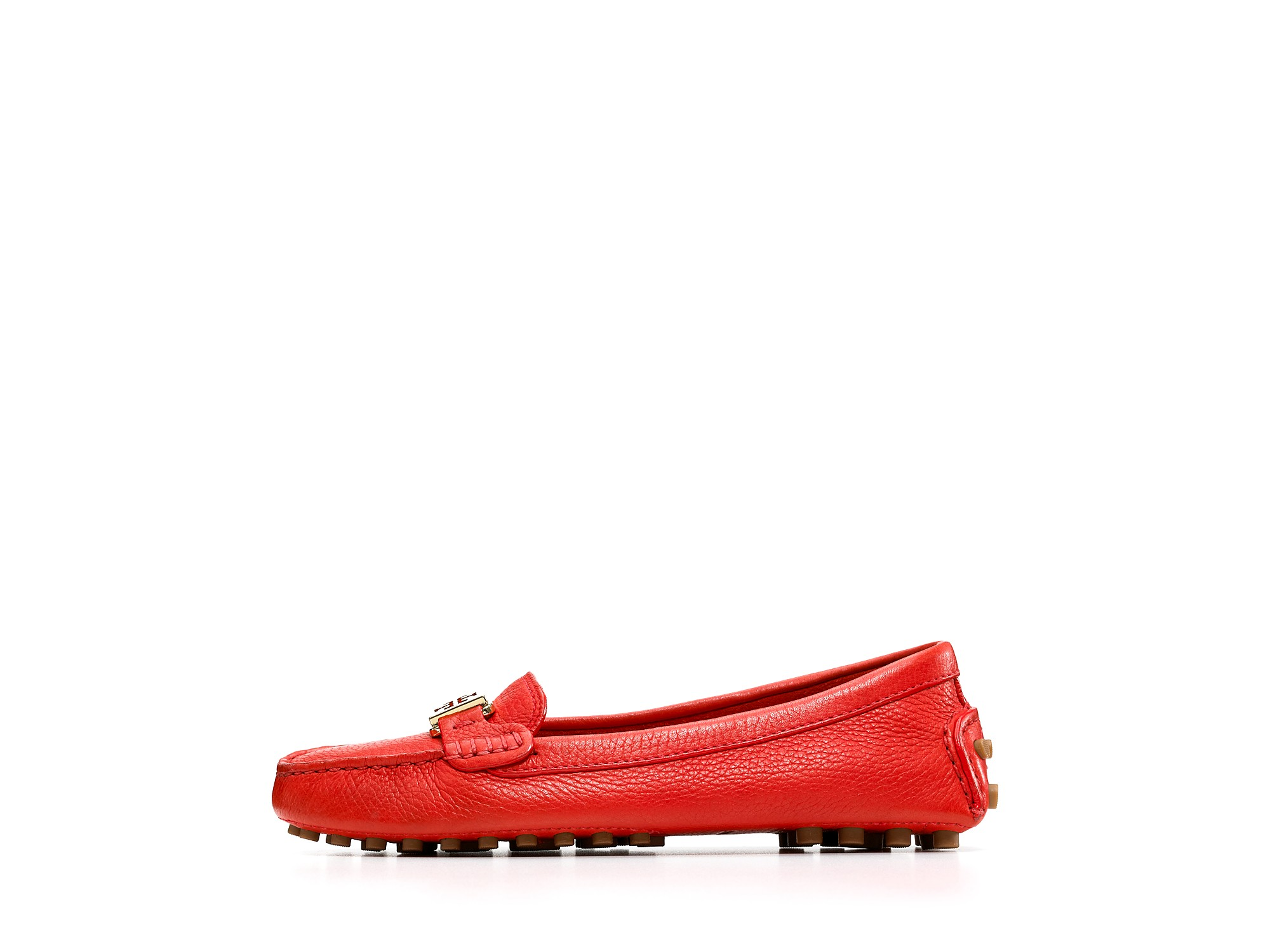 ce5ac3b3a454b3 Lyst - Tory Burch Loafers Kendrick in Red