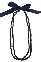 Vanities Beaded Necklace - Lyst