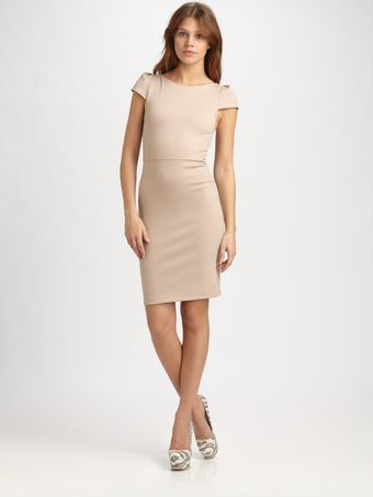 Alice + Olivia Avery Fitted Dress - Lyst