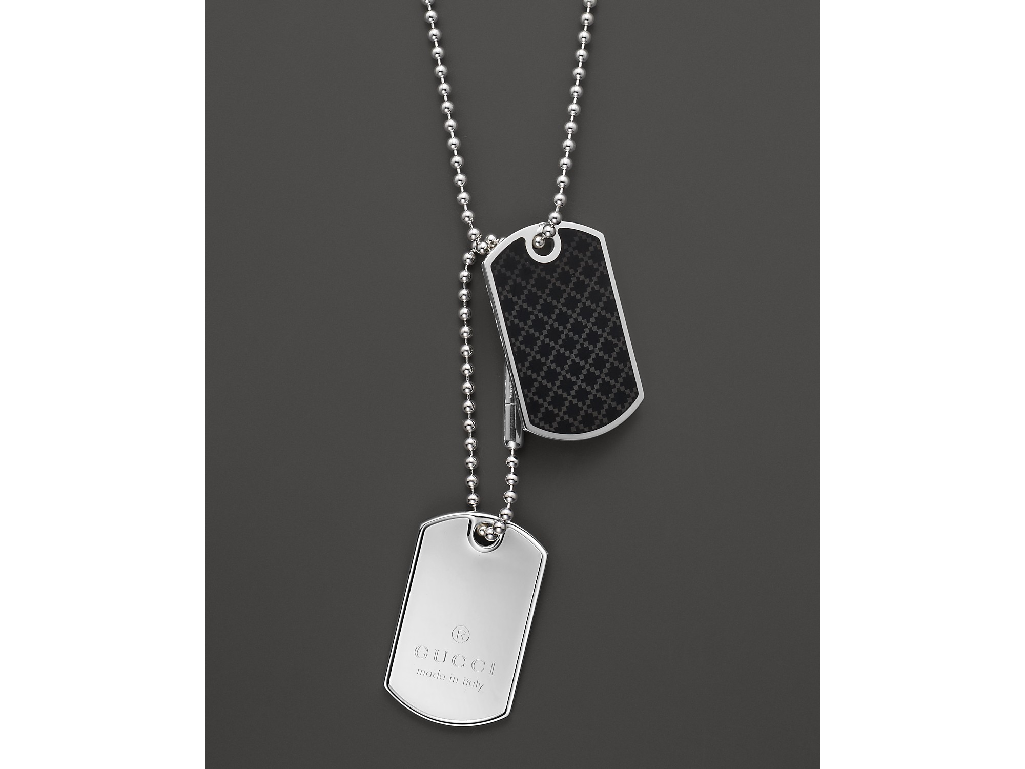 Gucci Dog Tags For Men Sale