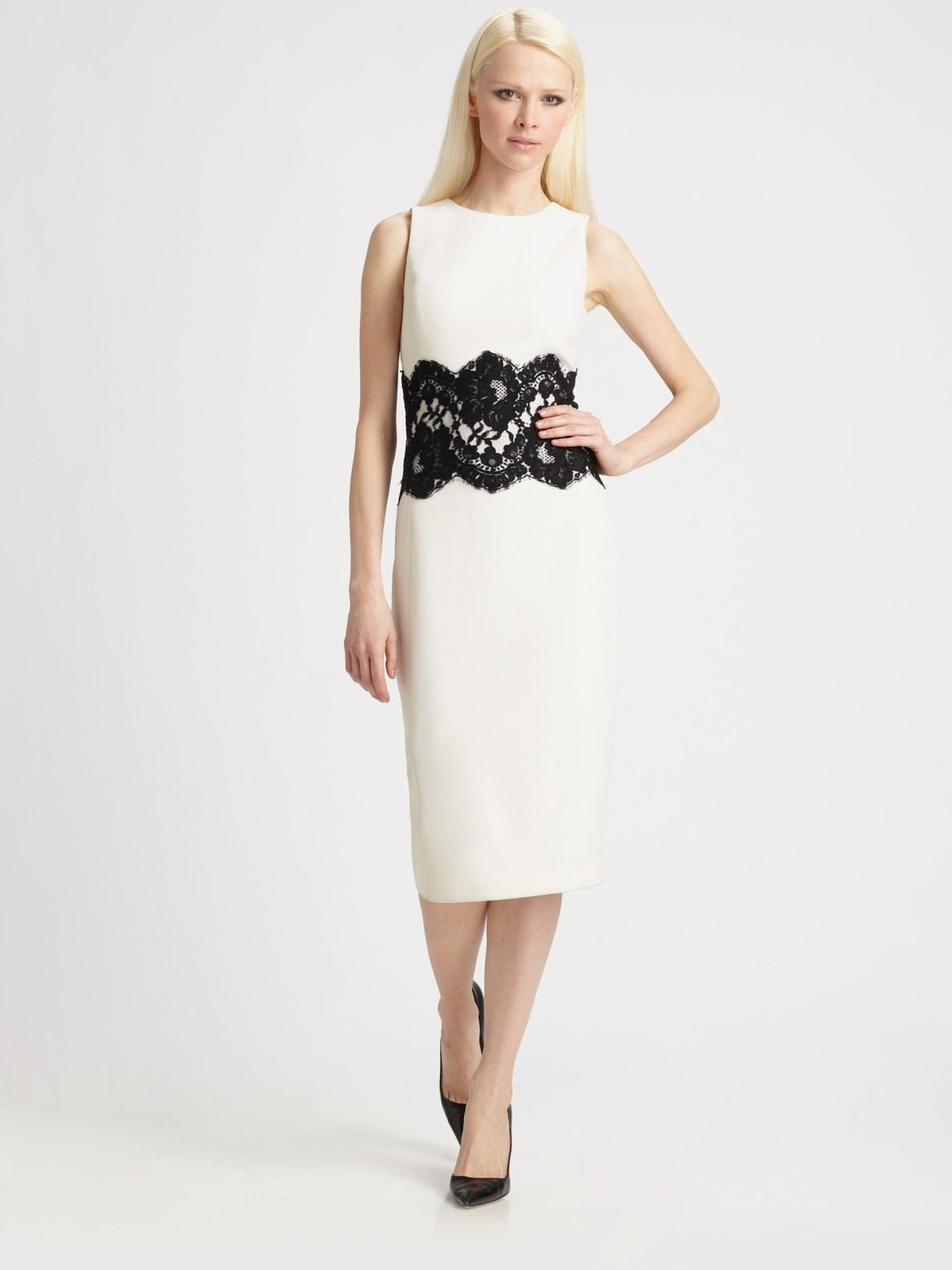 Lace Waist Dress