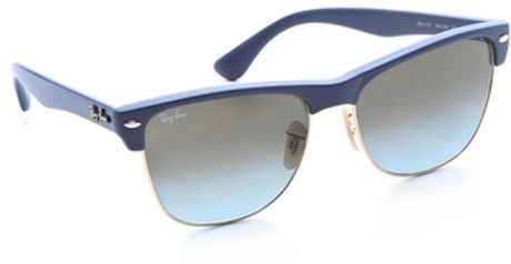 Ray-ban Highstreet Sunglasses in Blue - Lyst