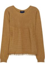 Class Roberto Cavalli Tasseled Knitted Sweater - Lyst