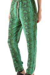 Elizabeth And James Snake Nuri Pants - Lyst