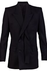 Juun.j Overlap Front Blazer in Black for Men - Lyst