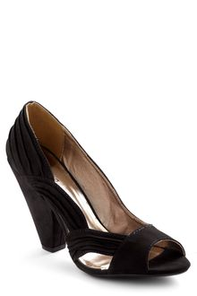 ModCloth Cascade You Look Heel in Black - Lyst