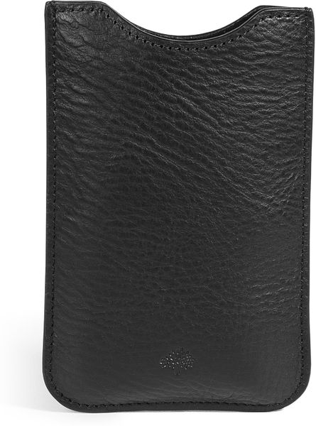 Mulberry Blackberry Cover in Black for Men - Lyst
