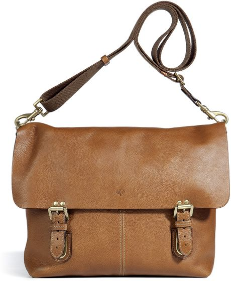 Mulberry  Barnaby Messenger Bag in Brown for Men (oak)