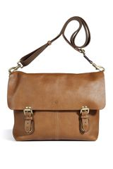 Mulberry  Barnaby Messenger Bag in Brown for Men (oak) - Lyst