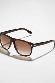 Tom Ford Olivier Plastic Sunglasses Brown - Lyst