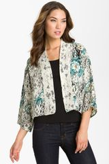 Citron Shawl Collar Silk Jacket - Lyst