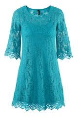 H&m Dress in Blue (turquoise) - Lyst