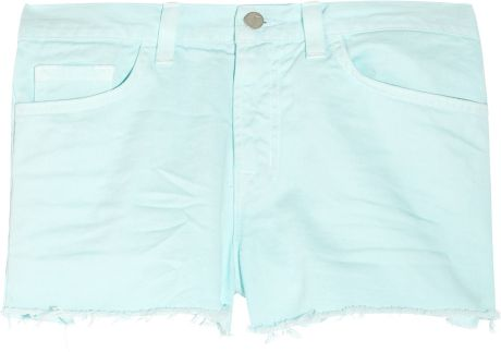 J Brand Lowrise Denim Cutoff Shorts in Blue (denim) - Lyst