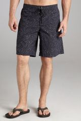 McQ by Alexander McQueen Navy Bubble Print Nylon Swim Trunks - Lyst