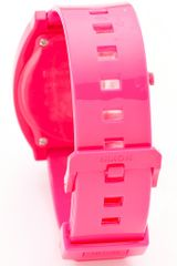Nixon The Time Teller P Watch in Pink - Lyst