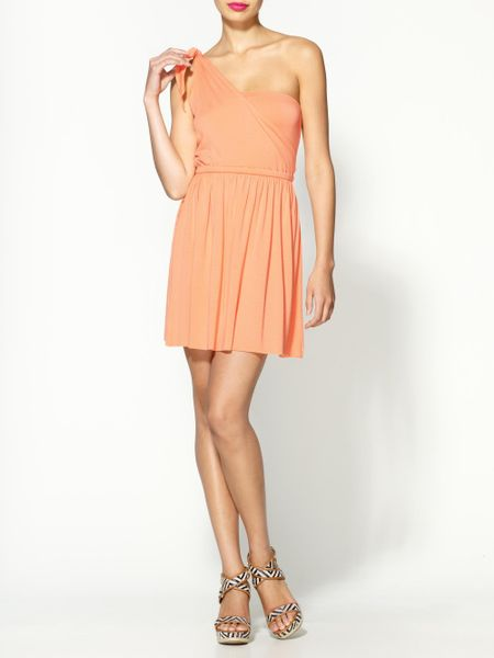 Rachel Pally Clemence Dress in Orange (cantaloupe) - Lyst