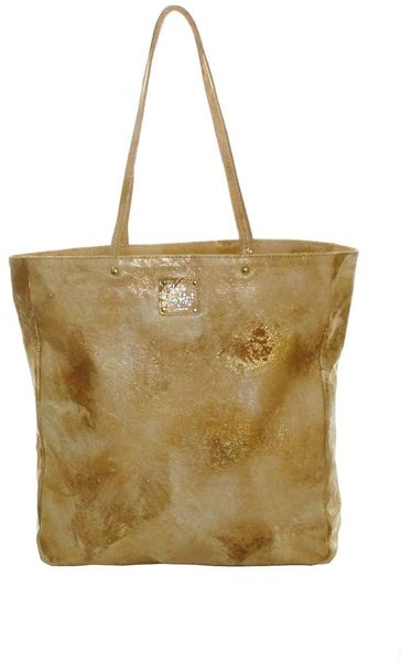 Sara Berman Remy Tote Yellow Gold in Gold (yellow) - Lyst
