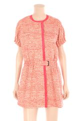 Balenciaga Tweed Dress - Lyst