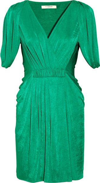 BCBGMAXAZRIA Draped Jersey Wrapeffect Dress - Lyst