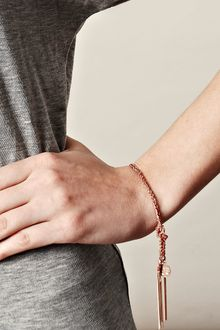 Carolina Bucci Rose Gold Plated Silver Lucky Bracelet - Lyst