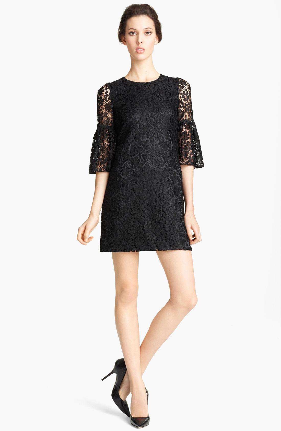 Dolce gabbana black lace dress 2012 dress blog edin for Dolce gabbana wedding dress