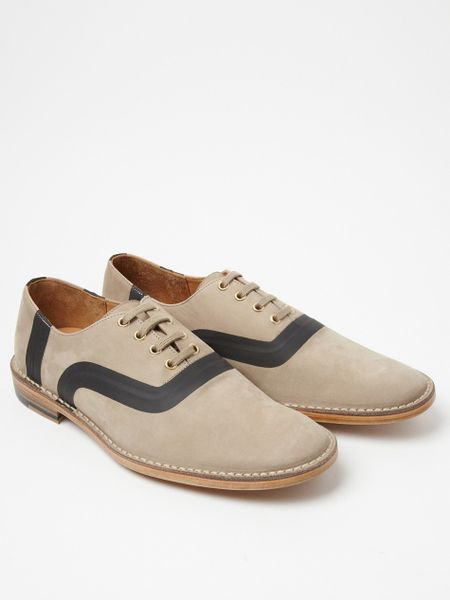 Marc Jacobs Marc Jacobs Mens Taped Low Shoe in Beige for Men